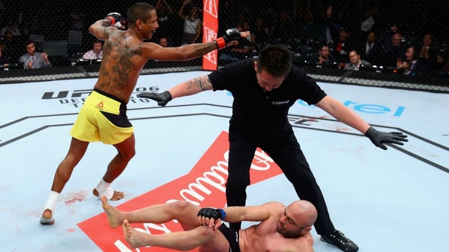 Bader batters Rogerio Nogueiro to win in Sao Paulo