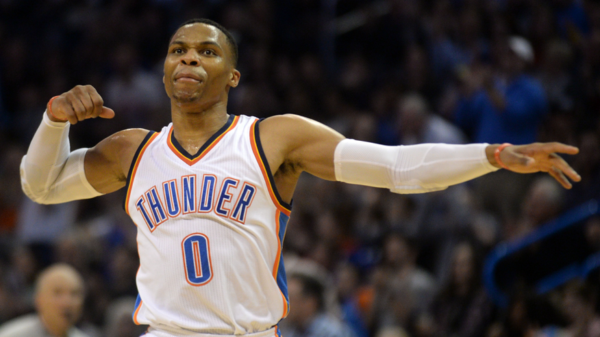 Thunder's Russell Westbrook averaging triple-double for season