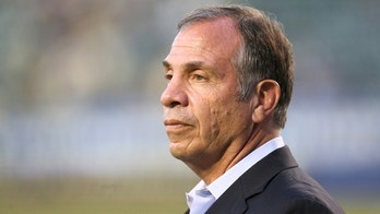 LOS ANGELES, CA - JULY 11: Head coach Bruce Arena of the Los Angeles Galaxy looks on during warmups for the match with Club America in the International Champions Cup 2015 at StubHub Center on July 11, 2015 in Los Angeles, California.  The Galaxy won 2-1.  (Photo by Stephen Dunn/Getty Images)