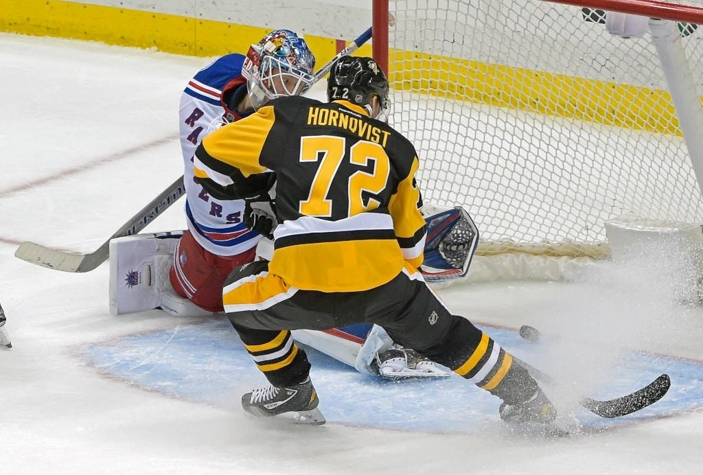 Crosby scores NHL-high 22nd goal, Penguins drop Rangers 7 ...
