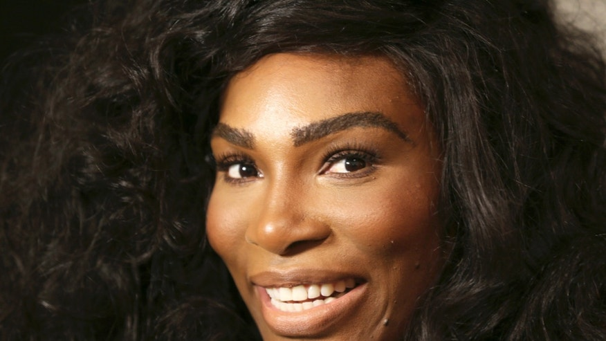 FILE - In a Monday, Sept. 12, 2016 file photo, Serena Williams speaks to reporters before showing her Serena Williams Signature Statement Spring 2017 collection during Fashion Week in New York. Williams announced her engagement to Alexis Ohanian on Thursday, Dec. 29, 2016, posting a poem on Reddit that she accepted the proposal of the social news website's co-founder. (AP Photo/Seth Wenig, File)