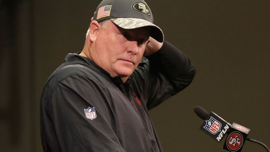 San Francisco 49ers to fire Chip Kelly, report says