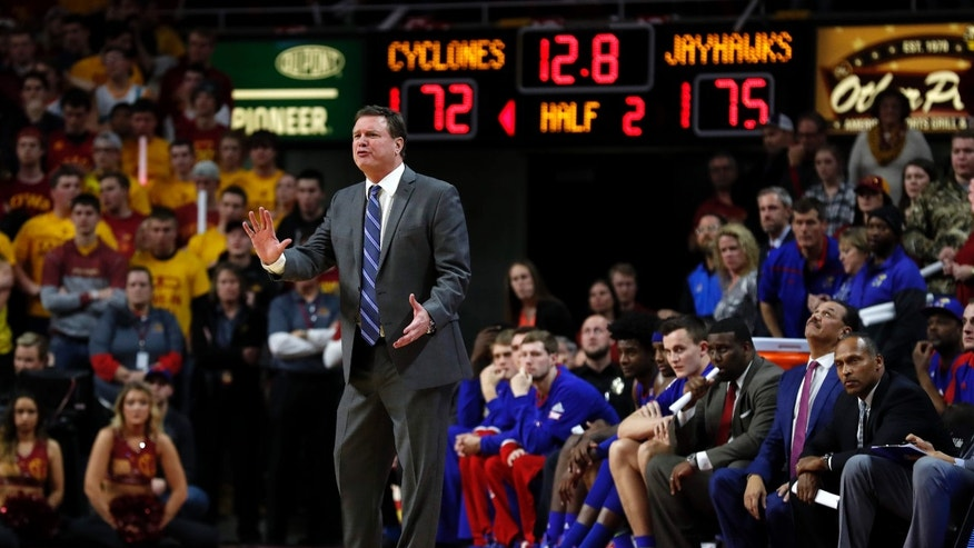 Kansas Coach Says No Discipline Yet Amid Police Rape Probe