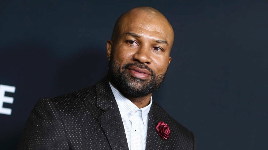 "FILE - In this March 29, 2016, file photo, Derek Fisher attends the LA Premiere of ""Meet the Blacks"" held at ArcLight Hollywood in Los Angeles."