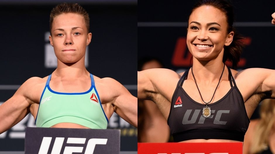 Rose Namajunas meets Michelle Waterson at FOX UFC Fight Night on April 15