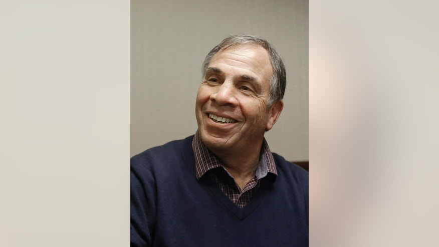 United States soccer head coach Bruce Arena speaks to reporters at a news conference in Millbrae, Calif., Monday, March 6, 2017. (AP Photo/Jeff Chiu)