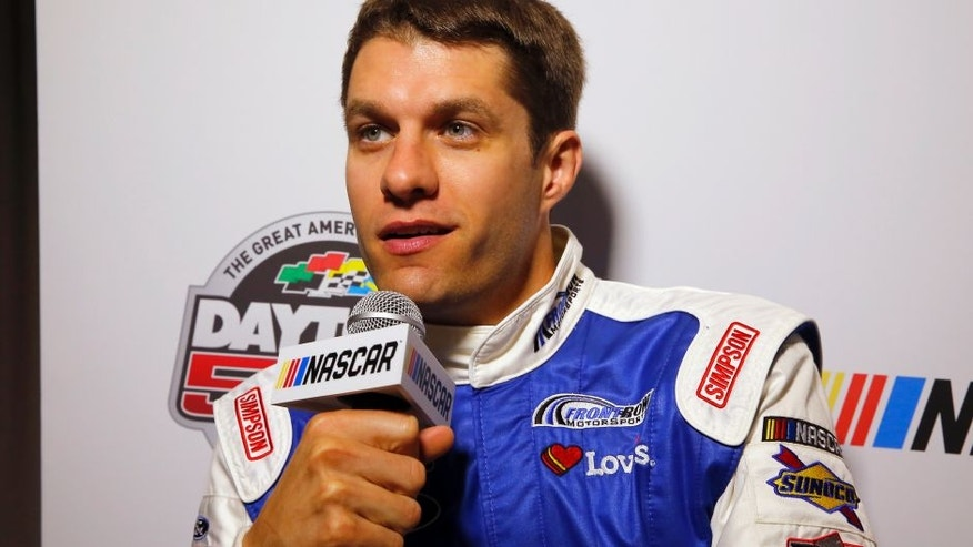 2017 NASCAR Monster Energy Cup - Daytona 500 media day Daytona International Speedway, Daytona Beach, FL USA Wednesday 22 February 2017 David Ragan World Copyright: Russell LaBounty/LAT Images ref: Digital Image 17DAY2rl_00217