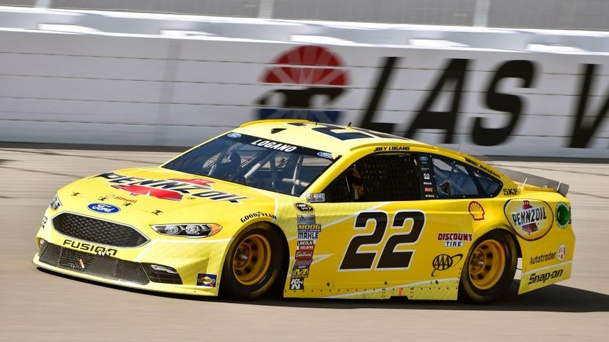 4-6 March 2016, Las Vegas, Nevada USA Joey Logano © 2016, Nigel Kinrade LAT Photo USA