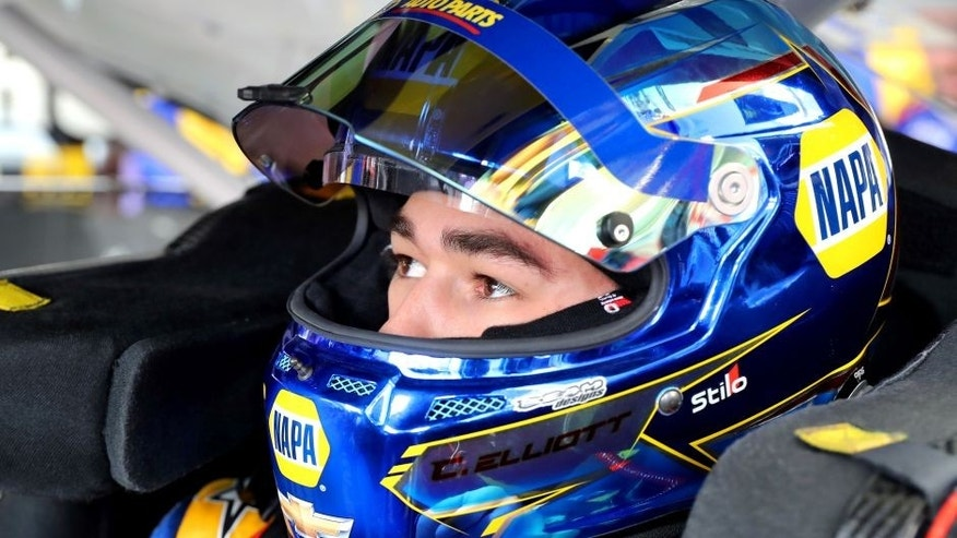 2017 Monster Energy NASCAR Cup Series - Kobalt 400 Las Vegas Motor Speedway - Las Vegas, NV USA Friday 10 March 2017 Chase Elliott World Copyright: Russell LaBounty/LAT Images ref: Digital Image 17LAS1rl_0271