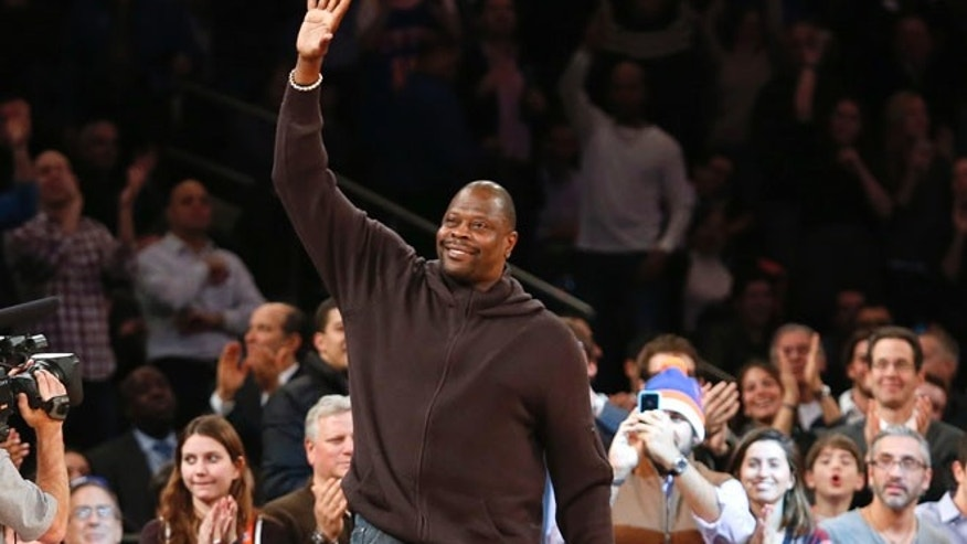 Patrick Ewing in 2012.