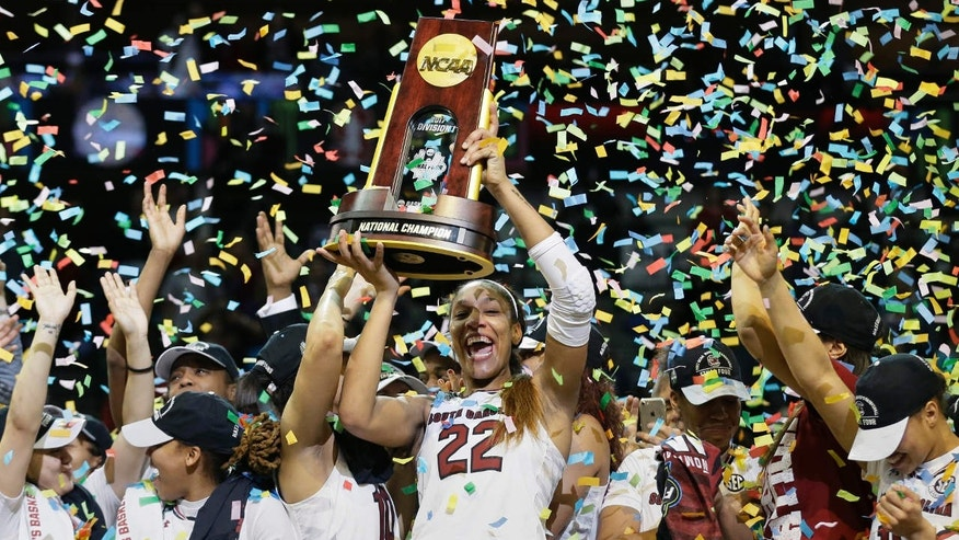 South Carolina defeats Mississippi State to win NCAA women's basketball title