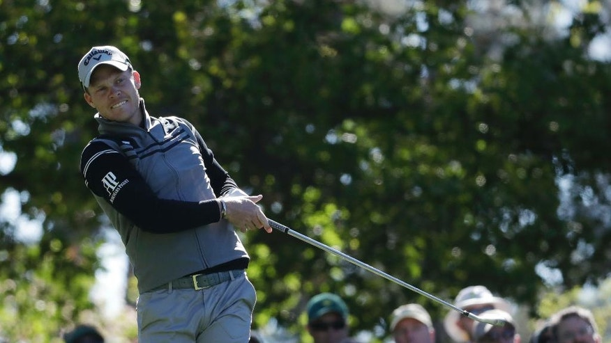 Danny Willett of England, watches his drive on the fourth hole during the second round of the Masters golf tournament Friday, April 7, 2017, in Augusta, Ga. (AP Photo/Chris Carlson)
