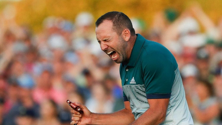 How Sergio Garcia won the 2017 Masters, snapping his major drought