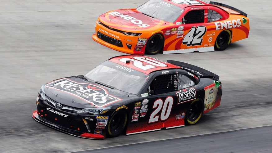 Race Results For Xfinity Series Race At Bristol Motor