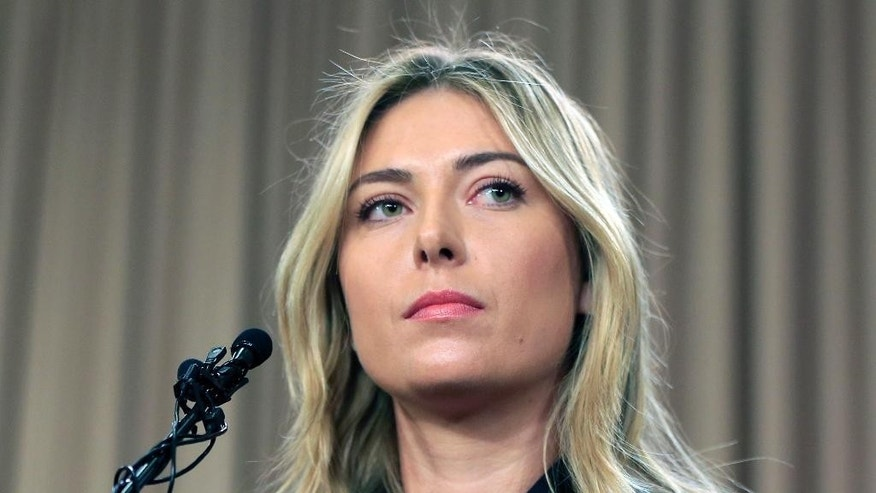 Some questions and answers about Maria Sharapova's return