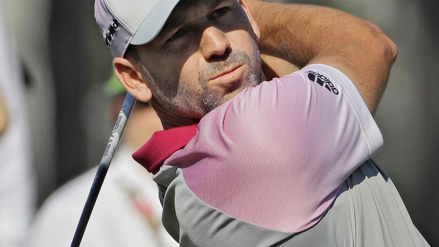 Sergio Garcia aces 17th in 2017 The Players first round