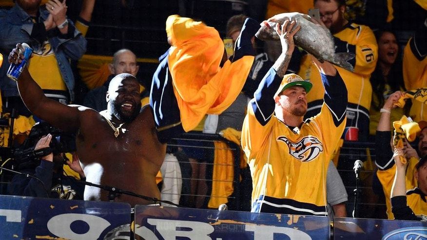 Predators forward Ryan Johansen has thigh injury, out for playoffs