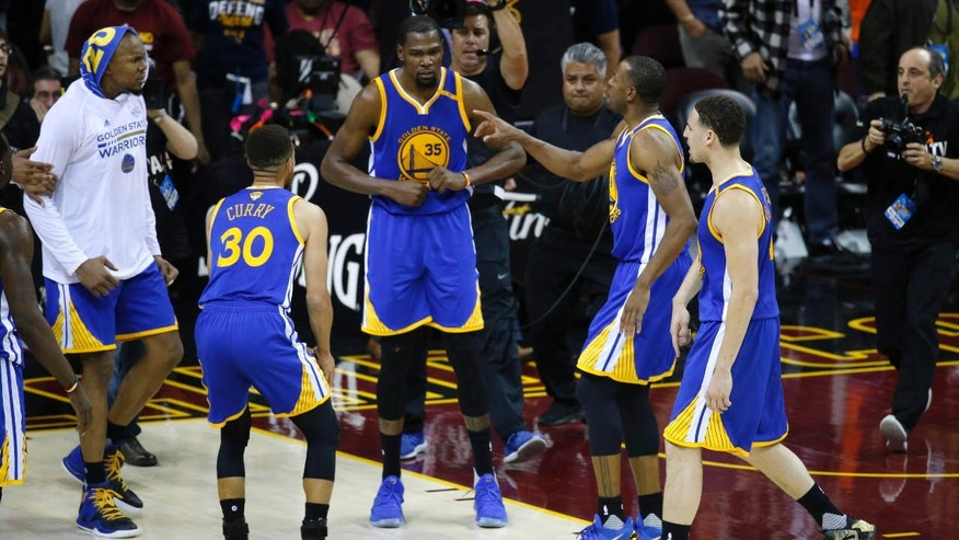 The NBA Finals: Durant's dagger three-pointer lifts ...