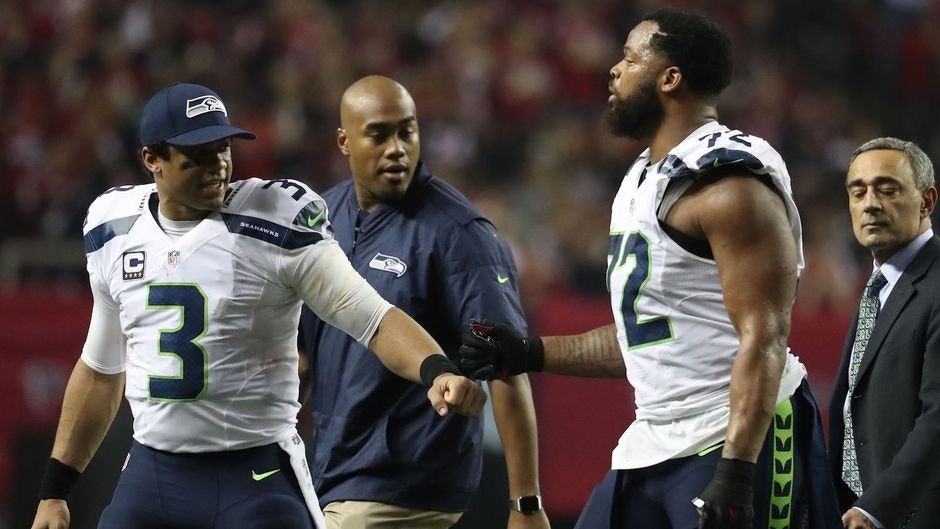 Michael Bennett says Seahawks cant win a game without Russell Wilson