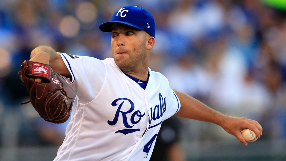 Kansas City Royals pitcher Danny Duffy delivers during the first inning of a baseball game against the Colorado Rockies last week.