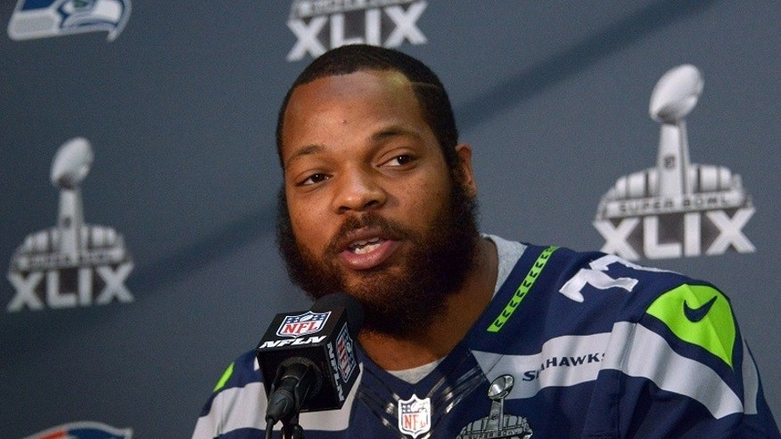 Michael Bennett, NFL star and victim of racial profiling and police brutality