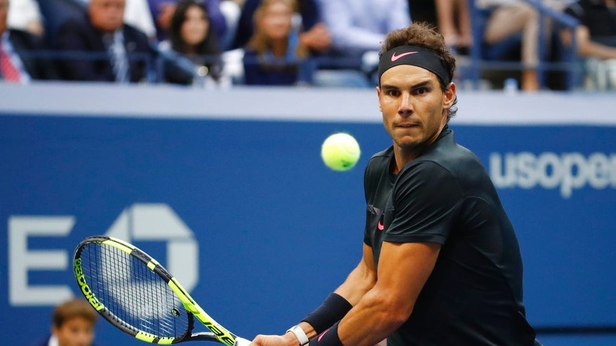 Image result for Rafael Nadal defeats Kevin Anderson for third US Open title