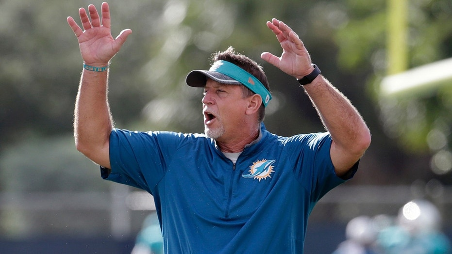 Christ Foerster resigned from the Miami Dolphins coaching staff on Monday.