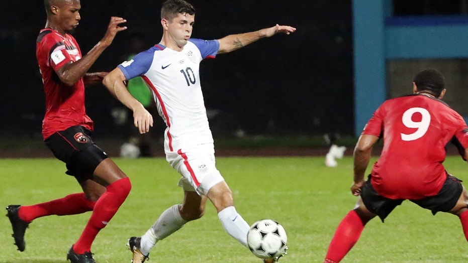 Christian Pulisic scored the only goal for the U.S. against Trinidad & Tobago.