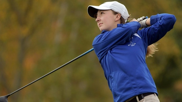 Girl wins boys golf event but is denied trophy