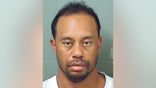 This image provided by the Palm Beach County Sheriff's Office on Monday, May 29, 2017, shows Tiger Woods. Police in Florida say Tiger Woods has been arrested for DUI.  The Palm Beach County Sheriff's Office says on its website that the golf great was arrested Monday and booked at about 7 a.m. (Palm Beach County Sheriuff's office via AP)