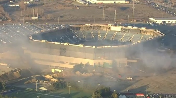 Pontiac Silverdome, former home of the Detroit Lions, has ...
