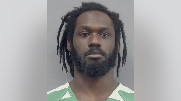 This undated photo provided by the Gainsville, Fla., Police Department shows WWE wrestler Rich Swann. Swann is being held without bail in a Florida jail after he was arrested Saturday, Dec. 9, 2017and charged with battery and false imprisonment. According to Gainesville Police, Swann was arguing with his wife, who is also a wrestler.  (Gainesville Police Department via AP)