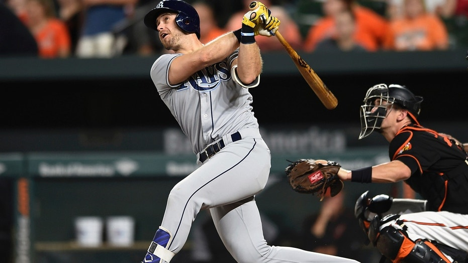Evan Longoria was drafted by the Tampa Bay Rays with the third overall pick in the 2006 Major League Baseball draft