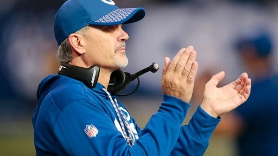 Indianapolis Colts head coach Chuck Pagano was fired after his team ended the season with a 4-12 record.