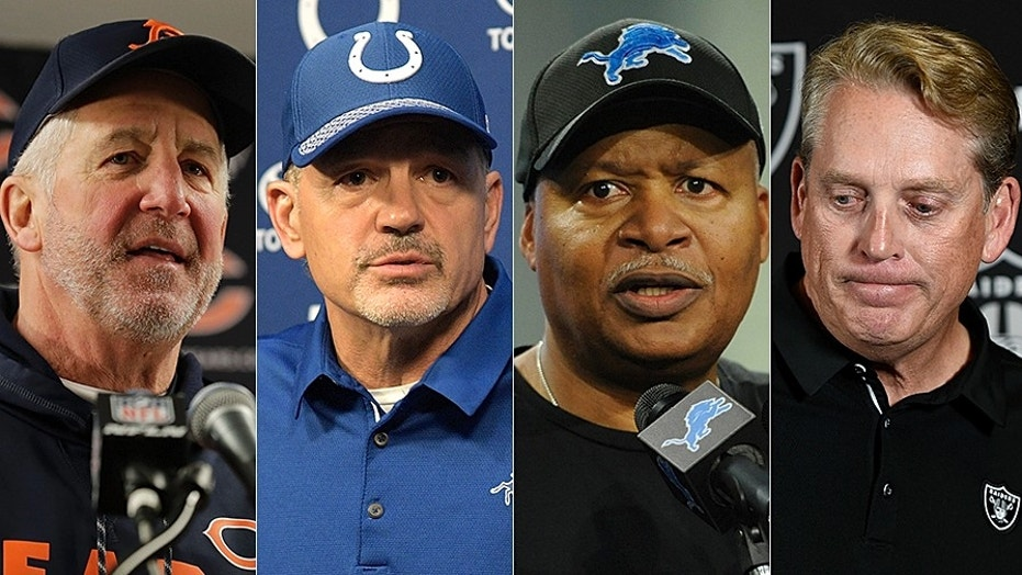 Four NFL Head Coaches Get Canned On The Same Day