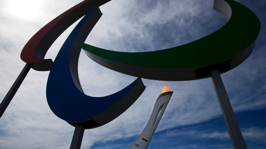Russia was banned Monday from the upcoming Pyeongchang Paralympics because of its doping past.