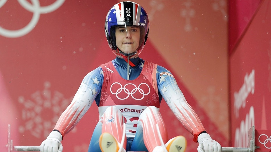 American Emily Sweeney Crashes in Olympics Luge Run, Taken to Hospital