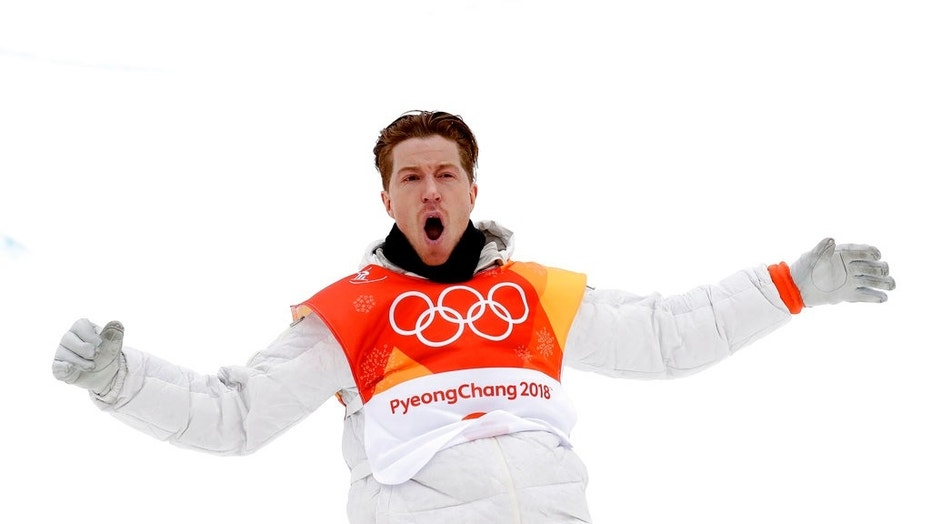 Shaun White's win makes him the first American to win gold in three different Winter Games.