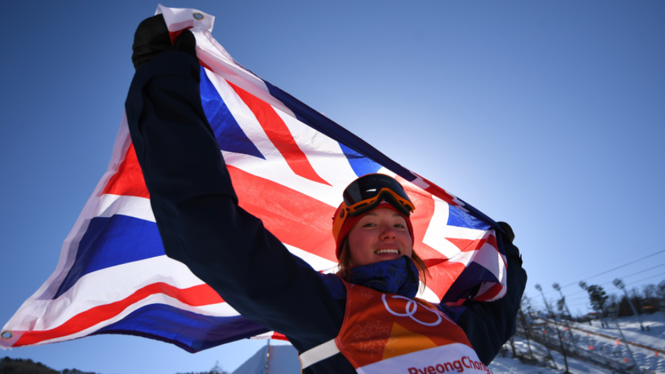 Skier Izzy Atkin made history Saturday as she won the United Kingdom its first-ever Olympic skiing medal at a Winter Games.