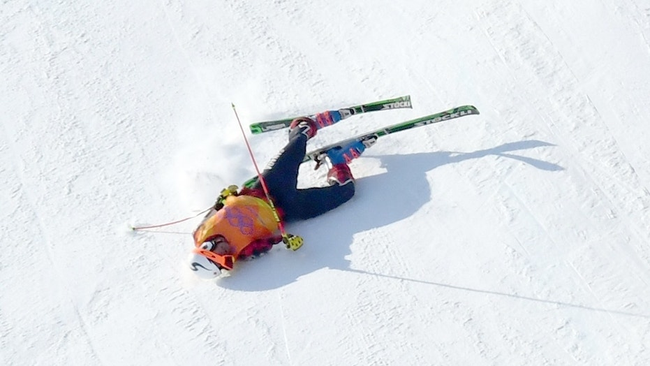 Skier breaks PELVIS after HORROR Winter Olympics crash