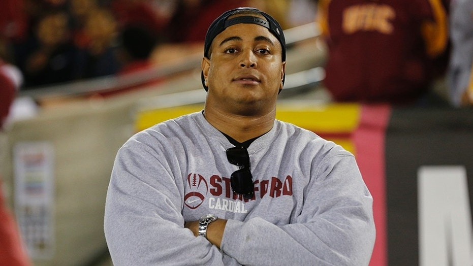 Former NFL player Jonathan Martin was reportedly detained by police for a disturbing Instagram post.