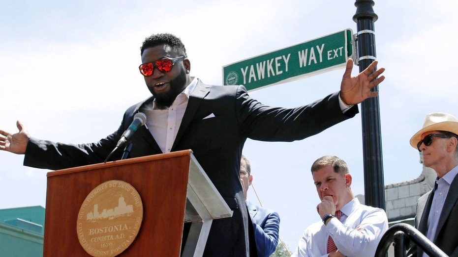 The city of Boston renamed a stretch of Yawkey Way David Ortiz Drive last summer in honor of the retired Red Sox designated hitter.