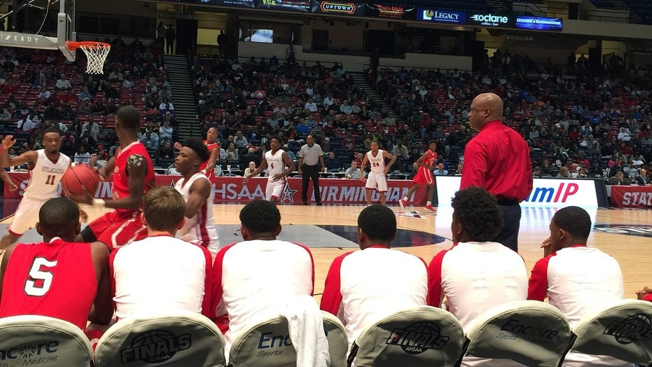 Eufaula High School boys basketball plays in the Alabama state championship game.