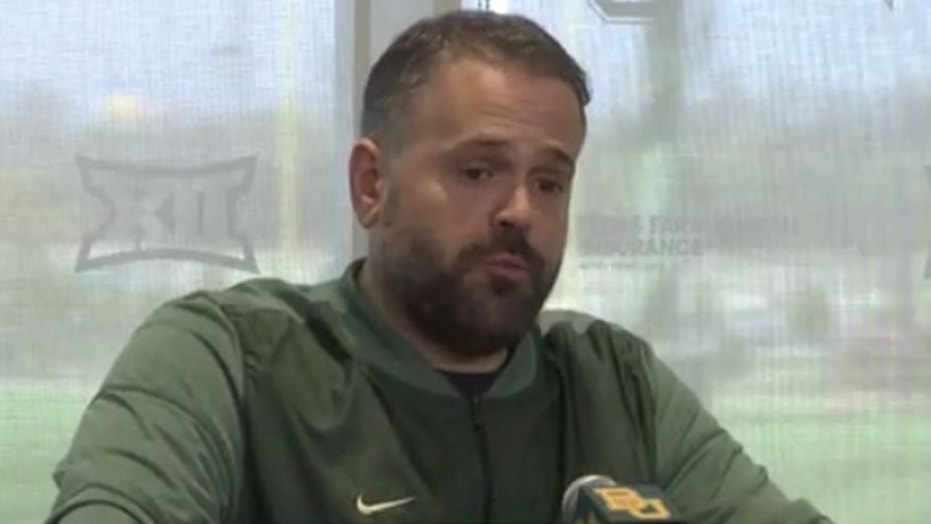 Baylor football head coach Matt Rhule says he has met with police about the case but has stayed out of it otherwise.