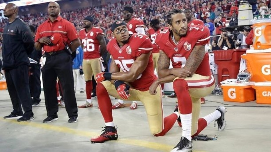 Kaepernick ex-teammate says anthem protests hampering ability to find new team