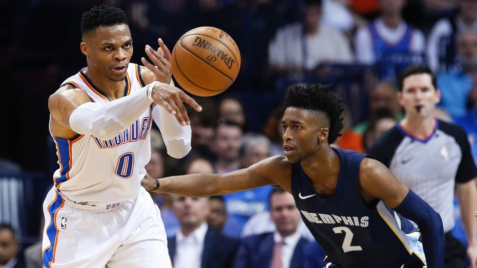 Thunder Broadcaster Says Russell Westbrook Is 'Out of His Cotton-Picking Mind'