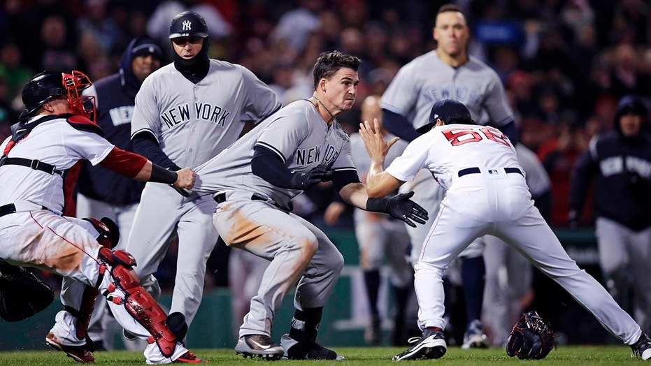 Major League Baseball doles out bans, fines for Yankees-Red Sox brawl
