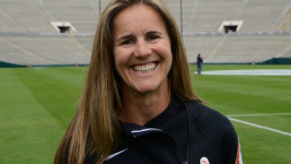 Brandi Chastain was inducted into the Bay Area Sports Hall of Fame on Monday night.
