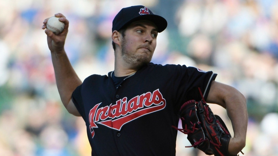 Trevor Bauer denied writing a conspiracy theory on the pitcher's mound during Tuesday's game.