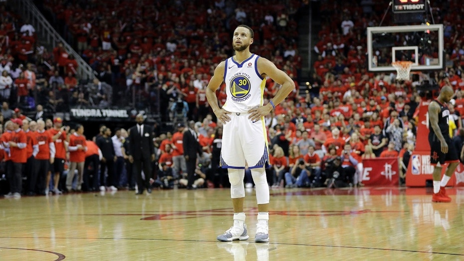 Stephen Curry and the Golden State Warriors face possible elimination Saturday night at home against the Houston Rockets in Game 6 of the NBA's Western Conference Finals.